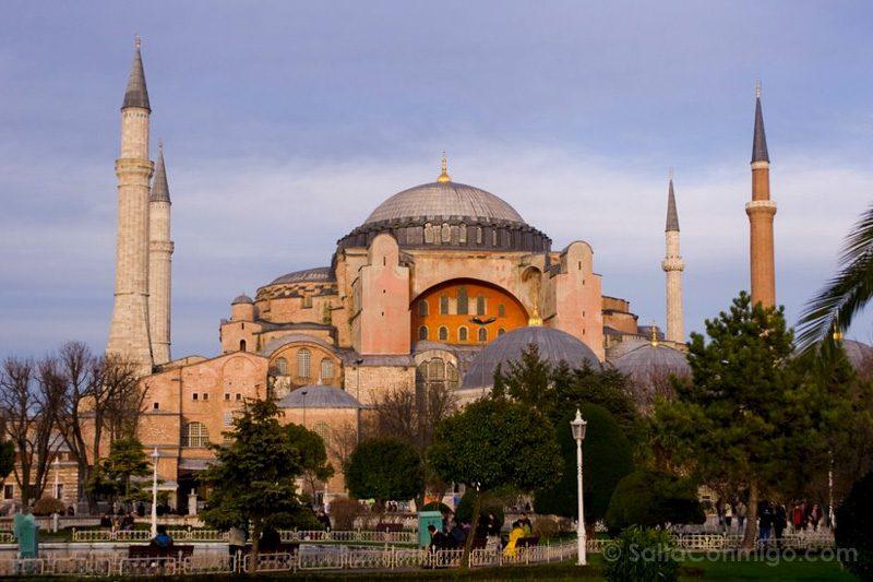 Edificios Religiosos Santa Sofia Estambul Turquia