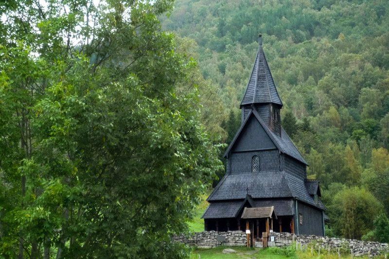 Edificios Religiosos Stavkirke Urnes Noruega