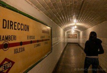 Estacion Fantasma Chamberi Pasillo Sara