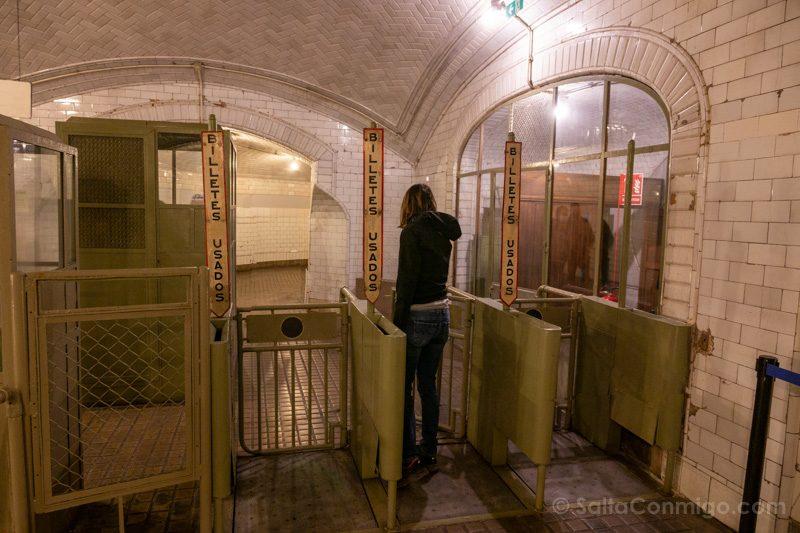 Estacion Fantasma Chamberi Paso Salida