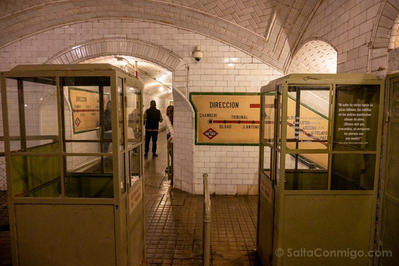 Estacion Fantasma Chamberi Revisor