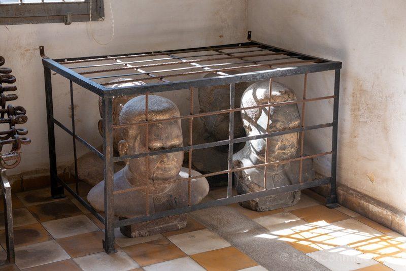 Genocidio Camboyano Museo Tuol Sleng Bustos Pol Pot