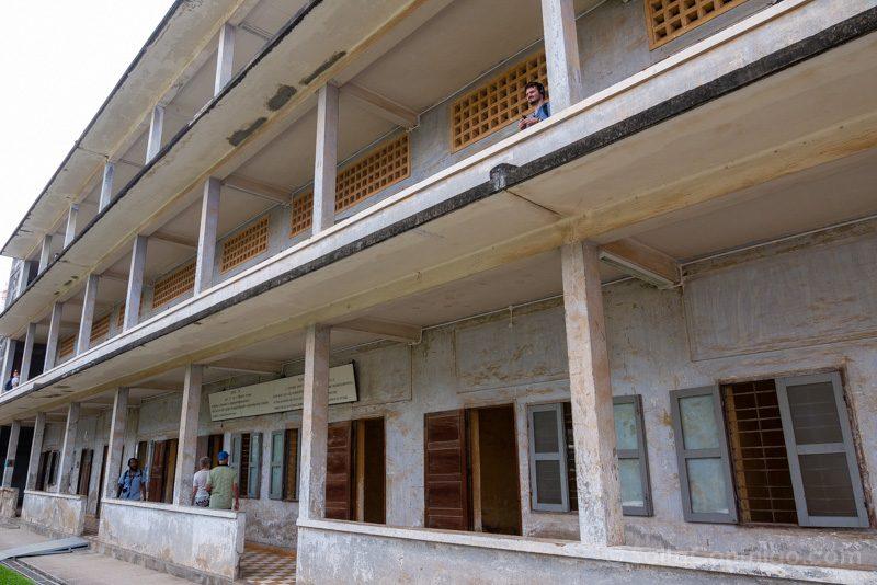 Genocidio Camboyano Museo Tuol Sleng Edificio A
