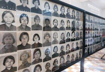 Genocidio Camboyano Museo Tuol Sleng Fotos Prisioneras