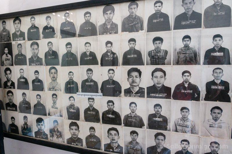 Genocidio Camboyano Museo Tuol Sleng Fotos Prisioneros