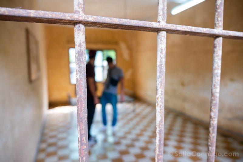 Genocidio Camboyano Museo Tuol Sleng Sala Tortura