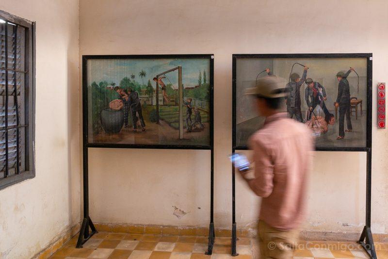 Genocidio Camboyano Museo Tuol Sleng Torturas