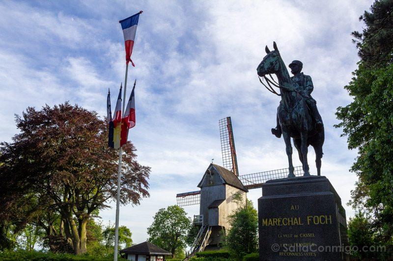 Pueblos De Francia Norte Cassel Molino