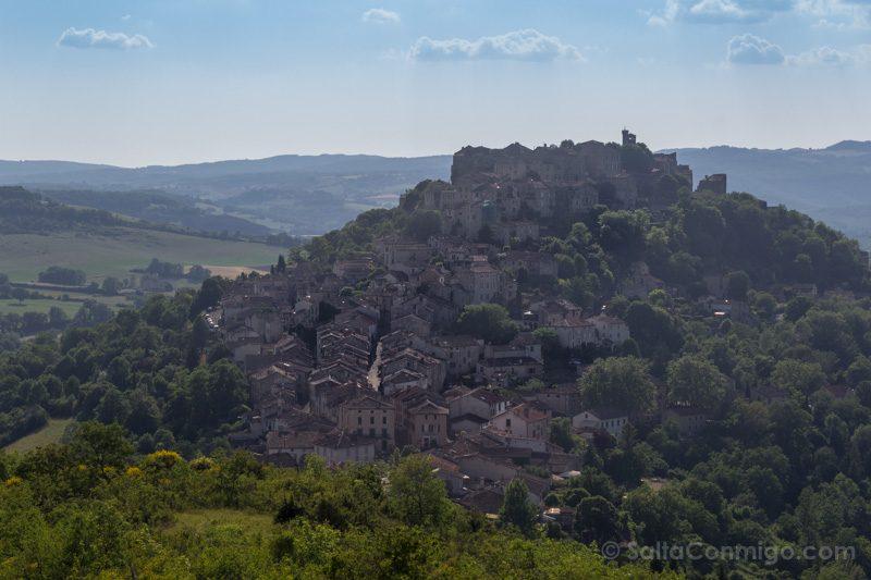 Pueblos De Francia Occitania Cordes-sur-Ciel Mirador