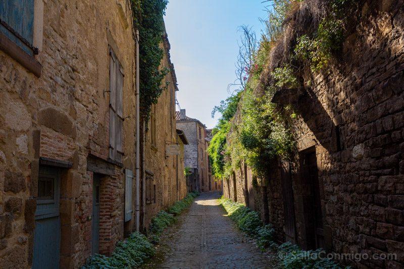 Que Visitar En Cordes-sur-Ciel Calle Trasera