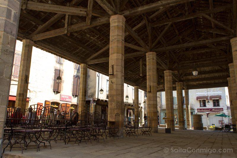 Que Ver En Cordes-sur-Ciel Plaza Mercado Cubierta