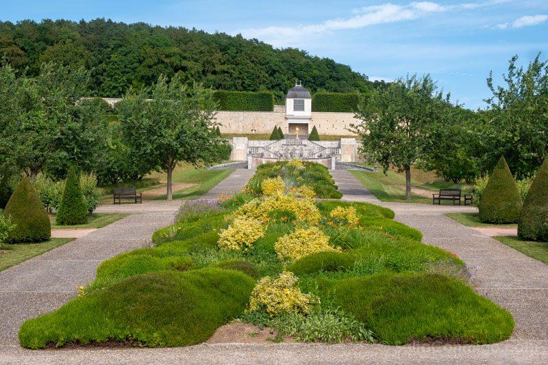 Abadias Valle Sena Saint-Georges Boscherville Jardin