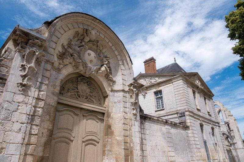 Abadias Valle Sena Saint-Wandrille Puerta