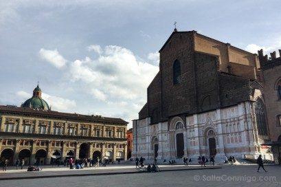 Basilica San Petronio Bolonia Exterior Plaza