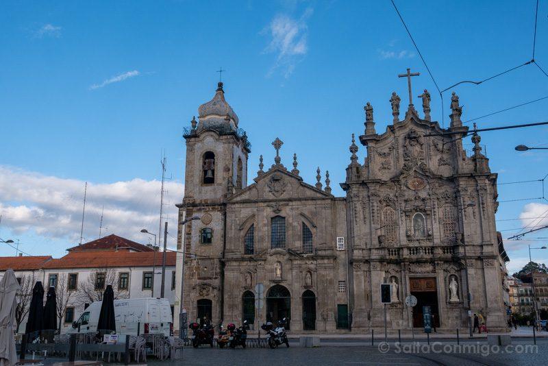 Iglesias De Oporto Carmo Carmelitas