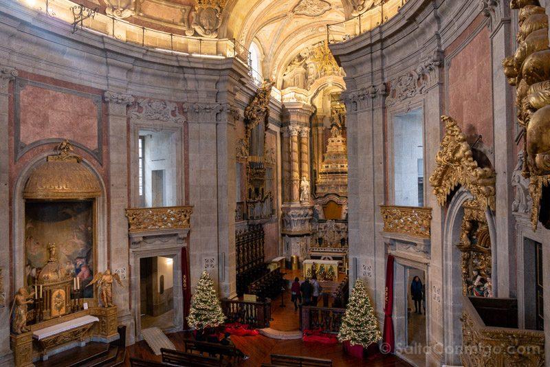 Iglesias De Oporto Clerigos Interior