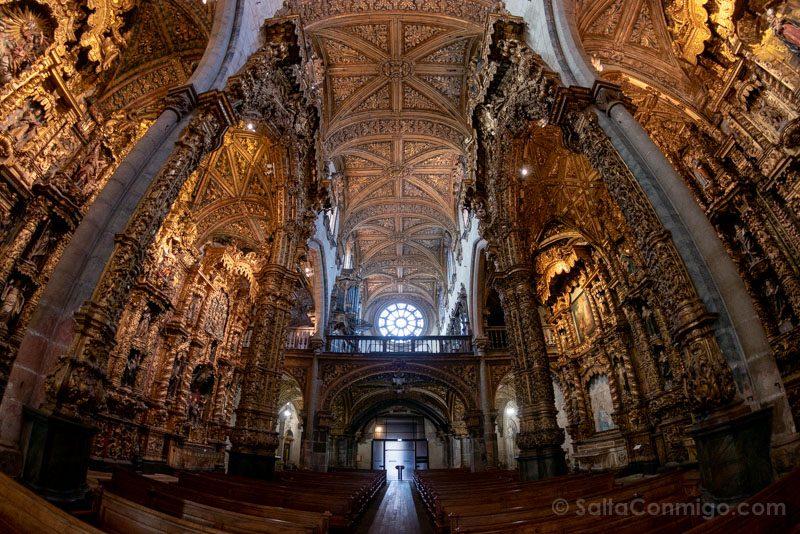 Iglesias De Oporto San Francisco Interior