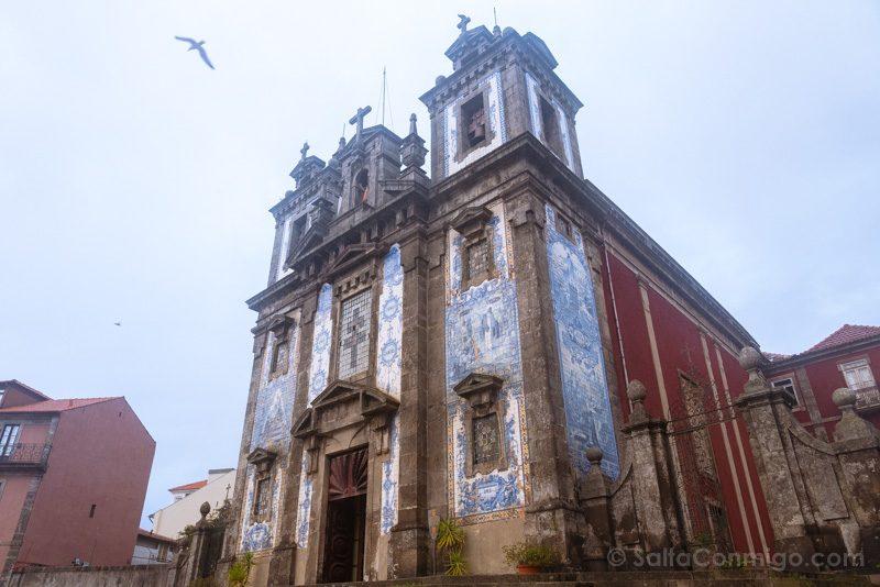 Iglesias De Oporto San Ildefonso