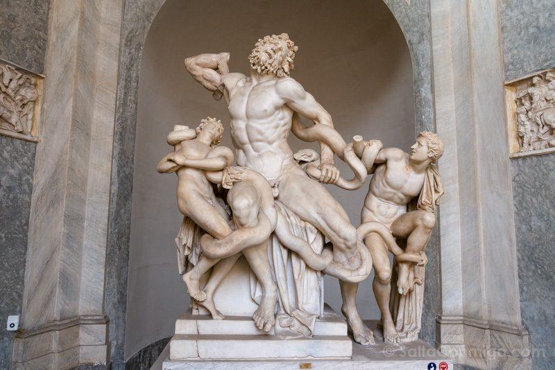 Museos en Roma Museos Vaticanos Laocoonte