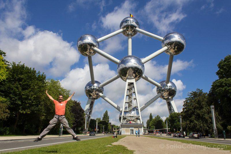 Que Hacer Ver Bruselas Atomiun Salto