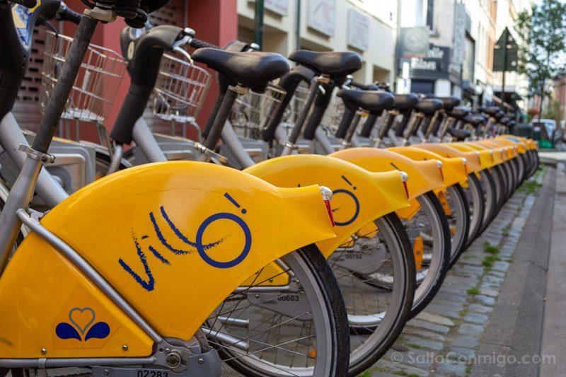 Que Hacer Ver Bruselas Bicicletas