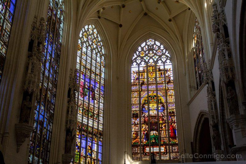 Que Hacer Ver Bruselas Catedral Vidrieras