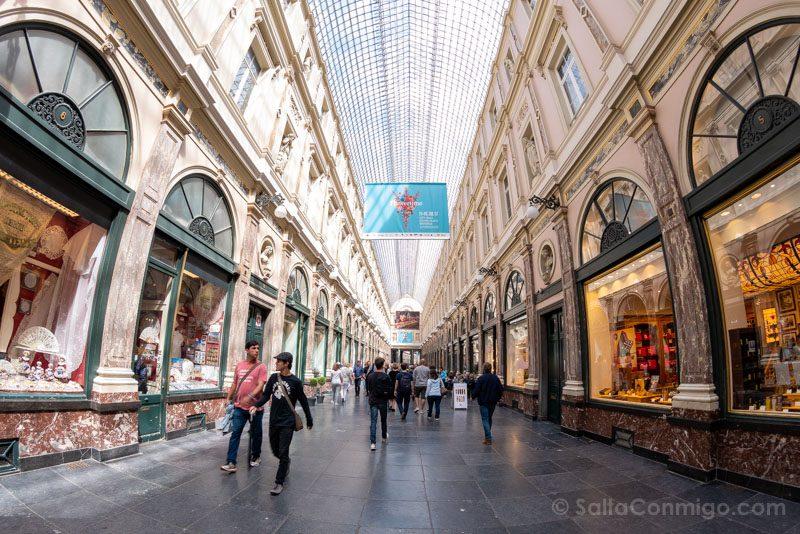 Que Hacer Ver Bruselas Galerias Reales San Huberto