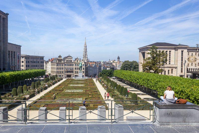 Que Hacer Ver Bruselas Mont des Arts
