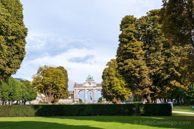 Que Hacer Ver Bruselas Parque Cincuentenario