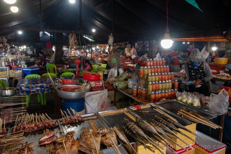 Que Ver En Kep Crab Market Mercado Cangrejo