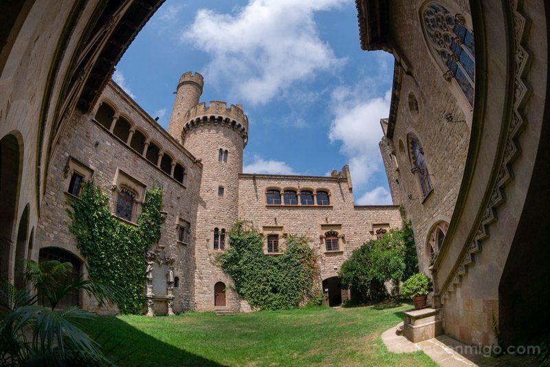 Rutas Catalunya Coche Barcelona Castillo Santa Florentina