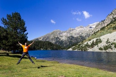 Rutas Catalunya Coche Lleida Parque Aiguestortes Salto