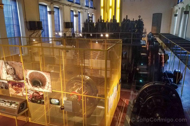 Visitas Guiadas Gratis Madrid Museo Metro Nave Motores