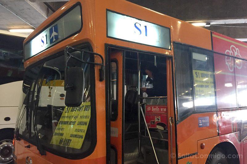 Aeropuerto Bangkok Bus Khao San Road
