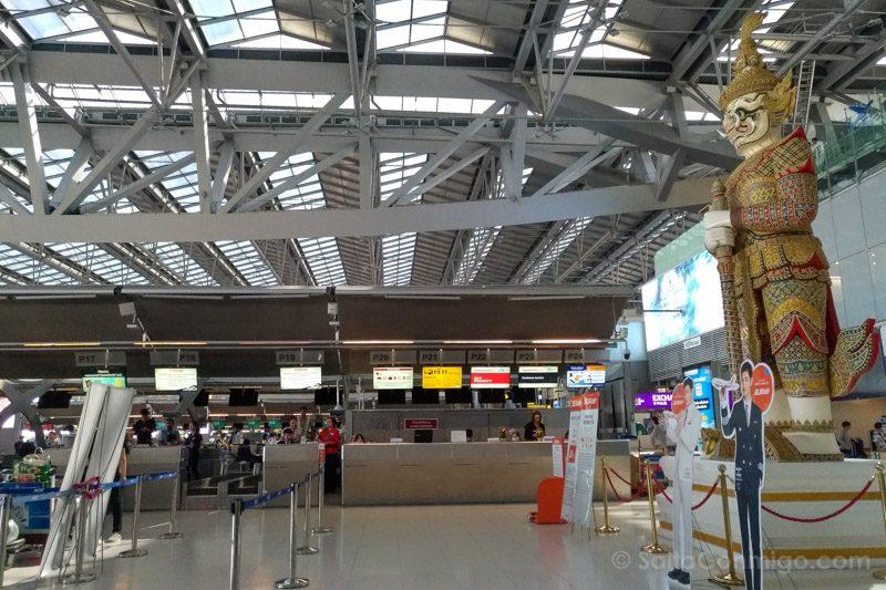 Aeropuerto Bangkok Suvarnabhumi