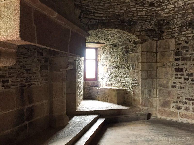 Castillo de Fougeres Torre Sala