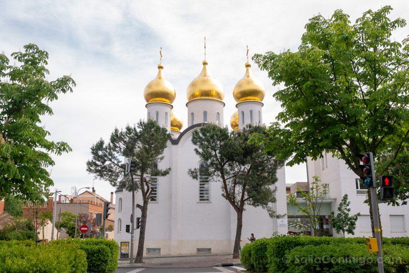 Catedral Ortodoxa Rusa Exterior Frontal