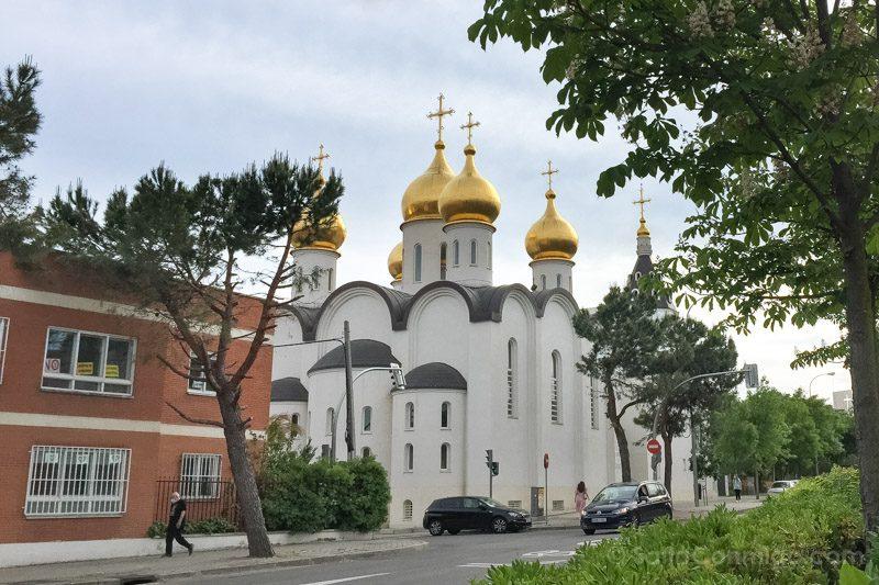 Catedral Ortodoxa Rusa Exterior