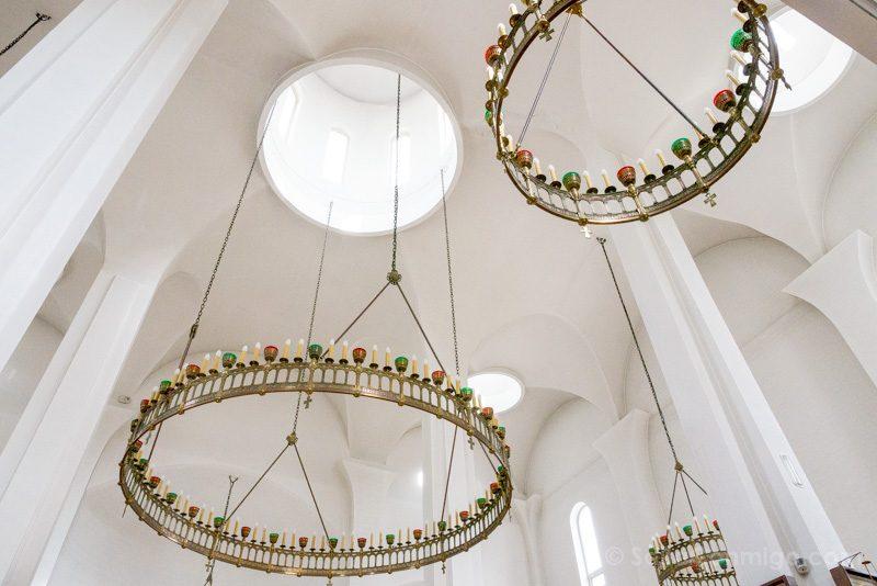 Catedral Ortodoxa Rusa Interior Lamparas
