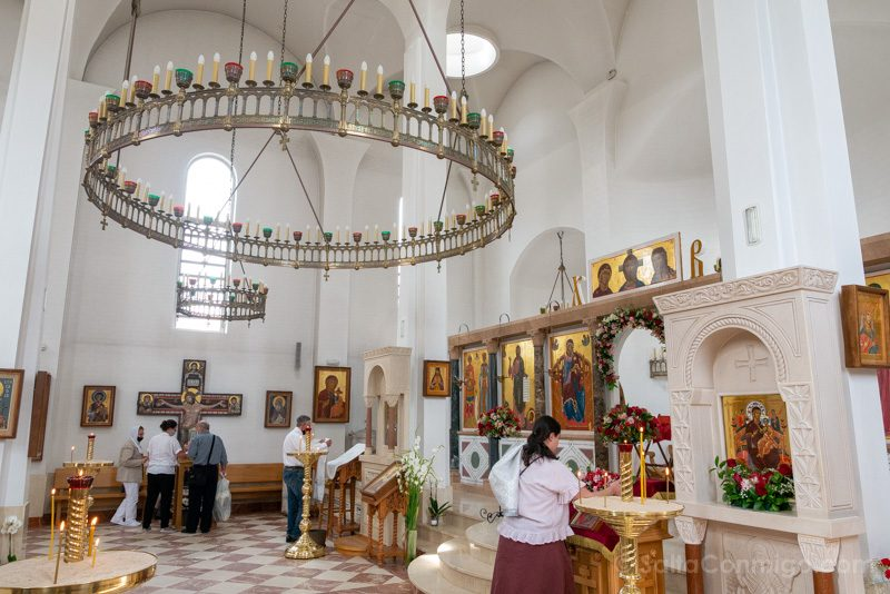 Catedral Ortodoxa Rusa Interior Lateral
