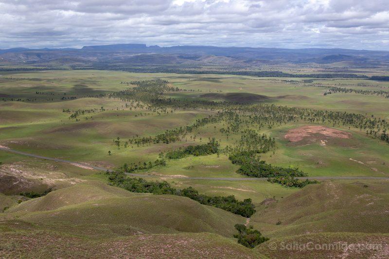 Naturaleza Venezuela Gran Sabana Mirador Tepuys