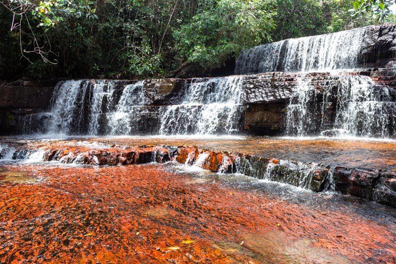 Naturaleza Venezuela Gran Sabana Quebrada Jaspe