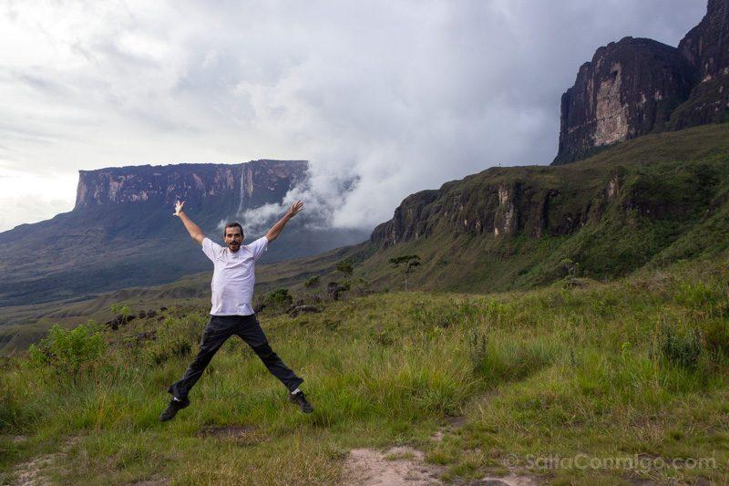 Naturaleza Venezuela Roraima Salto