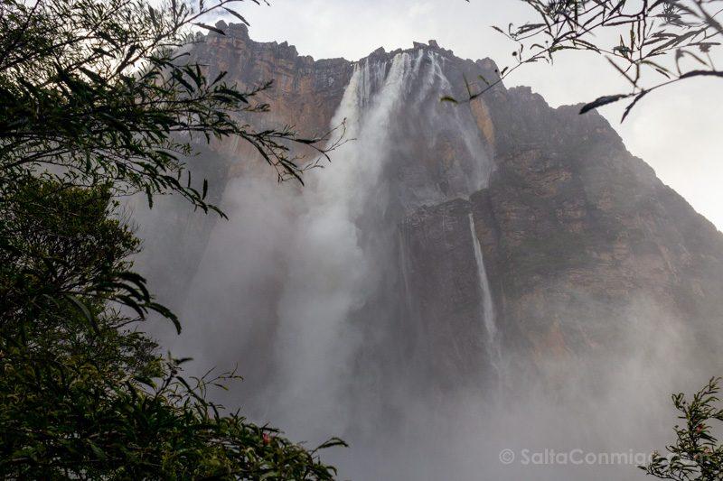 Naturaleza Venezuela Salto Angel Abajo