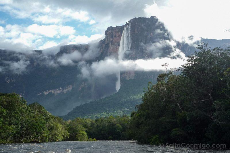 Naturaleza Venezuela Salto Angel