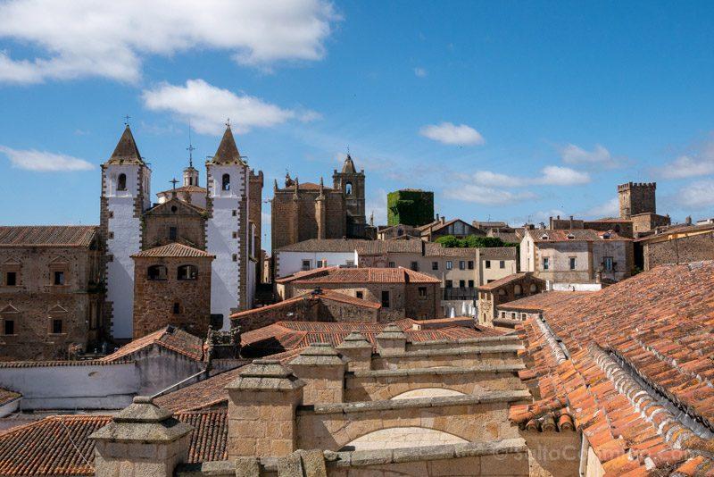 Que Ver En Caceres Palacio Carvajal Torre Vista