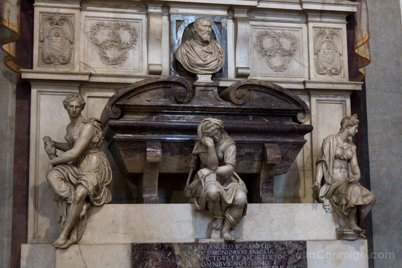 Que Ver En Florencia En Un Dia Basilica Santa Cruz Tumba Miguel Angel