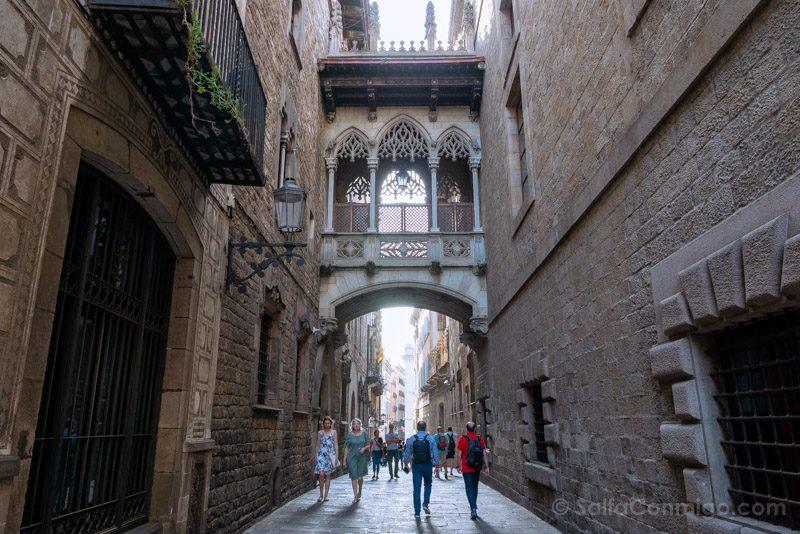 Que Ver en Barrio Gotico Pont Bisbe
