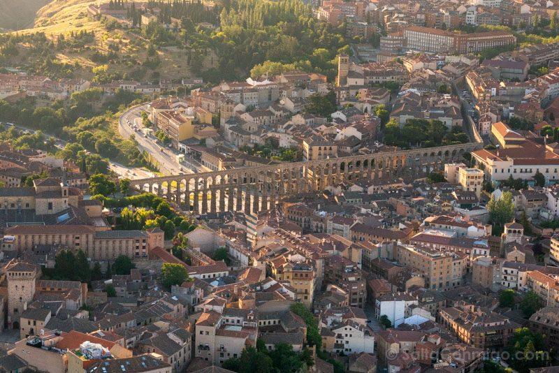 Volar Globo Segovia Acueducto