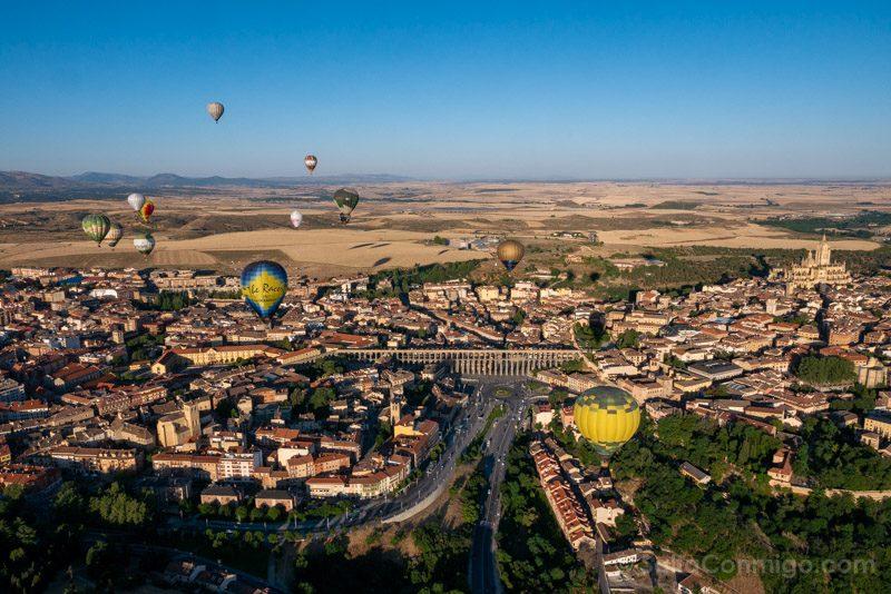 Volar Globo Segovia Festiva